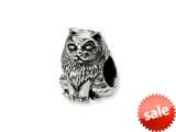 Reflections™ Sterling Silver Birman Cat Bead / Charm style: QRS1272