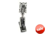 Reflections™ Sterling Silver Deck Chair Dangle Bead / Charm style: QRS1375
