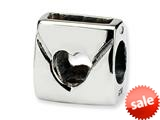 Reflections™ Sterling Silver Love Note Bead / Charm style: QRS203