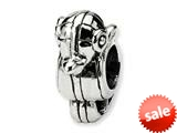 Reflections™ Sterling Silver Elephant Bead / Charm style: QRS242