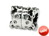 Reflections™ Sterling Silver Ladybug Bead / Charm style: QRS247