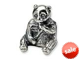 Reflections™ Sterling Silver Bear Bead / Charm style: QRS260