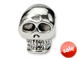Reflections™ Sterling Silver Skull Bead / Charm