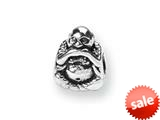 Reflections™ Sterling Silver Speak No Evil Bead / Charm style: QRS307