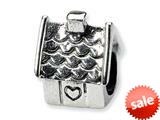 Reflections™ Sterling Silver House Bead / Charm style: QRS343