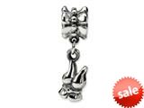 Reflections™ Sterling Silver Camisole Dangle Bead / Charm style: QRS505