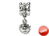 Reflections™ Sterling Silver Sun Dangle Bead / Charm style: QRS510