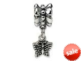 Reflections™ Sterling Silver Butterfly Dangle Bead / Charm style: QRS513