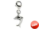 Reflections™ Sterling Silver Dolphin Click-on / Lobster Clasp for Bead / Charm Bracelets style: QRS562