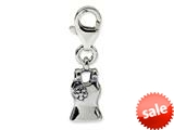 Reflections™ Sterling Silver Tank Top Click-on / Lobster Clasp for Bead / Charm Bracelets style: QRS575