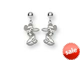 Disney Mickey Dangle Post Earrings style: WD103SS