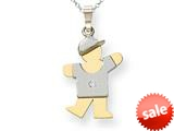 The Kids® Diamond kid Charm / Pendant style: XK503AA