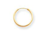 14k Madi K Endless Hoop Earrings style: SE186