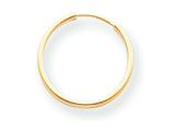 14k Madi K Endless Hoop Earrings style: SE187