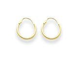 14k Madi K Hoop Children Earrings style: SE201