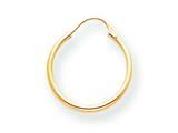 14k Madi K Hoop Children Earring style: SE212