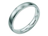 Chisel Stainless Steel 4mm Brushed Weeding Band style: SR14