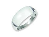 Chisel Stainless Steel 8mm Cats Eye Size 6 Ring style: SR179