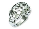 Chisel Stainless Steel Polished Circle Cut-out Ring style: SR200
