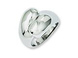 Chisel Stainless Steel Polished Size 7 Ring style: SR233