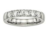 Chisel Stainless Steel Polished CZ 4.00mm Weeding Band style: SR524