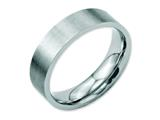 Chisel Stainless Steel Flat 6mm Brushed Weeding Band style: SR5