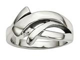 Chisel Stainless Steel Polished Ring style: SR603