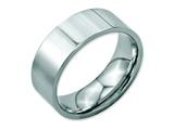Chisel Stainless Steel Flat 8mm Polished Weeding Band style: SR9