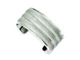 Chisel Stainless Steel Laser Cut Cuff Bangle style: SRB1000