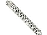 Chisel Stainless Steel Polished Fancy Links 9in Bracelet style: SRB10529