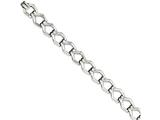 "Chisel Stainless Steel Polished Fancy Link 8.5"" Bracelet style: SRB105785"