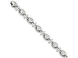Chisel Stainless Steel Polished Fancy 8.5in Bracelet style: SRB110285