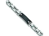 Chisel Stainless Steel Carbon Fiber Bracelet