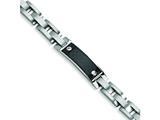 Chisel Stainless Steel Carbon Fiber Bracelet style: SRB121
