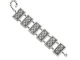 Chisel Stainless Steel With 2in Extension Antiqued Bracelet style: SRB1227725