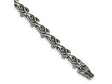 Chisel Stainless Steel Antiqued Dragon Bracelet style: SRB1266825