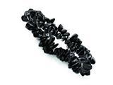 Chisel Black Tourmaline Stretch Bracelet style: SRB1312