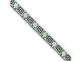 Chisel Stainless Steel Enameled Bracelet - 9 inches style: SRB134