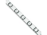 Chisel Stainless Steel Brushed and Polished Bracelet - 8.5 inches style: SRB138