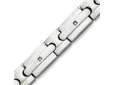 Chisel Stainless Steel Brushed Czs Bracelet style: SRB1411825