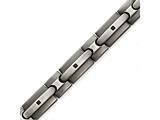 Chisel Stainless Steel Brushed W/black Cz Bracelet style: SRB1414825