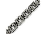 Chisel Stainless Steel Brushed W/cz Bracelet style: SRB1415875