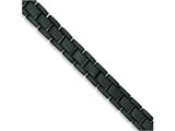 Chisel Stainless Steel Black Plating Bracelet - 8.5 inches