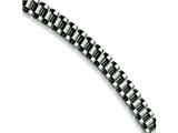Chisel Stainless Steel Brushed and Polished Bracelet - 8.5 inches style: SRB152