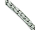 Chisel Stainless Steel Brushed and Polished Bracelet - 8.75 inches style: SRB155