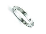 Chisel Stainless Steel Polished With Spikes Bracelet style: SRB1571