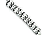 Chisel Stainless Steel Polished Bracelet - 8.75 inches