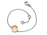 Chisel Stainless Steel Polished Champagne Glass W/1in Ext Bracelet style: SRB16037