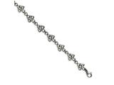 Chisel Stainless Steel Polished Trinity Knot 7in Bracelet style: SRB16237