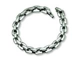Chisel Stainless Steel Polished Bracelet - 9 inches style: SRB166